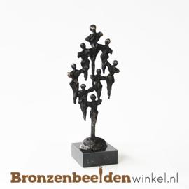 "Afscheidscadeau beeldje ""Team"" BBW004br32"