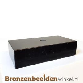 3x Marmeren sokkel 3x12x6 cm