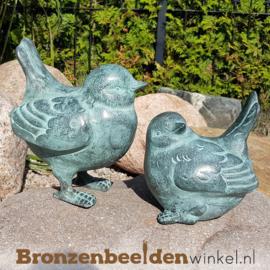 Bronzen vogel set BBW0169br