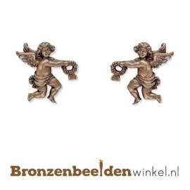 Twee bronzen engeltjes BBW20498