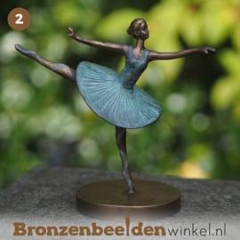 NR 2 | Verjaardagscadeau vrouw  ''Ballerina brons''  BBW2346br