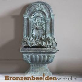 Muur fontein van brons BBW75098
