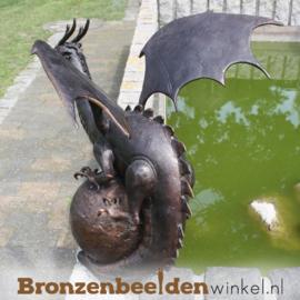 Bronzen draken beeld BBWB56592