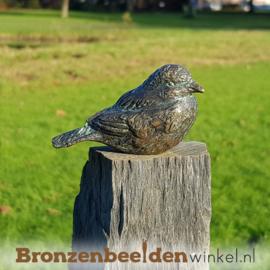 Vogel beeldje in brons BBWR88104