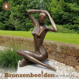 NR 4 | Cadeau man 50 jaar ''Vrouw abstract'' BBW1189br