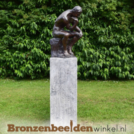 NR  1 | Cadeau man 65 jaar ''De Denker van Rodin'' BBW55878