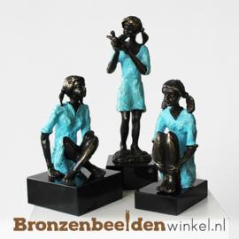 """Vrouwenbeeldje """"Spelenderwijs"""" BBW003br55"""