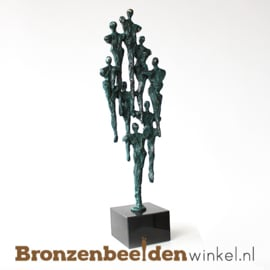 """Zakelijk beeldje """"Een team"""" - grote versie BBW004br33"""