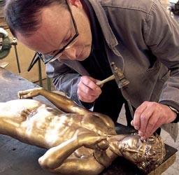 Bronzen beeld laten maken