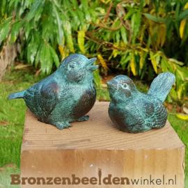 Bronzen beeldjes vogels BBW1319/20