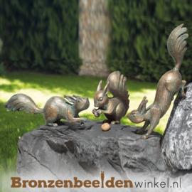 Drie eekhoorn beeldjes BBW37997