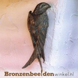 Beeld zwaluw vogel in brons BBWR88421