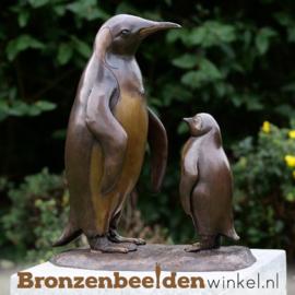 Bronzen penguins