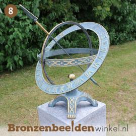 NR 8 | 80 jaar verjaardagscadeau ''Zonnewijzer met extra ring'' BBW0184br