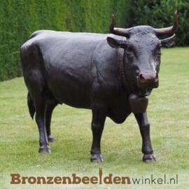 Groot koeien beeld in brons BBW47346