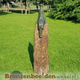 """Tuinbeeld  """"De Zon- en Sterrenkijker"""" - groen BBW005br07g"""