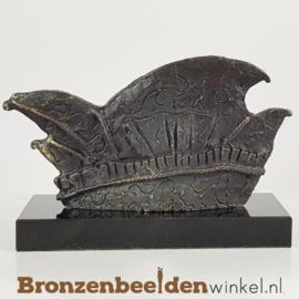 """Beeldje Prins Carnaval verkiezing """"Prinsensteek / Prinsenhoed"""""""