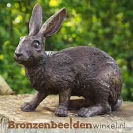 Bronzen konijnen en hazen