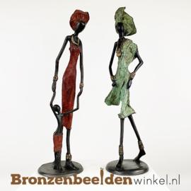 "Afrikaans kunst ""Set 2 st. (2xL)""  BBW009br51"