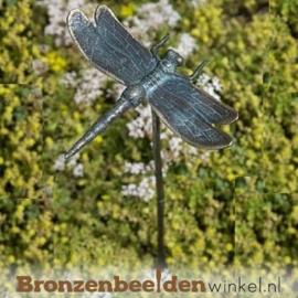 Beeld libelle als tuinsteker BBWR88617