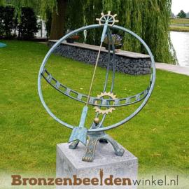 NR 1 | 40 jaar in dienst cadeau ''Grote bronzen zonnewijzer'' BBW1263br