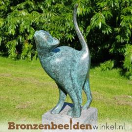 Bronzen kat beeld BBW1666br