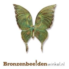 Bronzen vlinder beeldje BBW20367