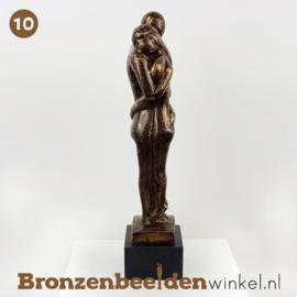 "NR 10 | 1 jaar getrouwd cadeau ""Geborgen voelen"" BBW001br10"