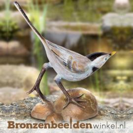 Bronzen kwikstaart beeld BBW37051