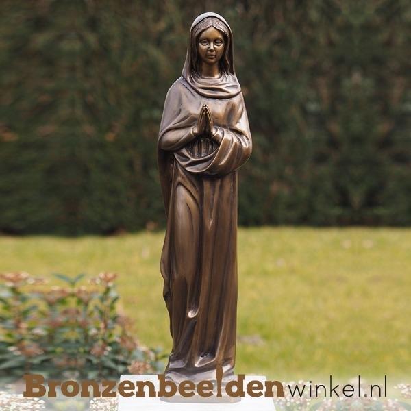 Beeld biddende Maria van brons BBW768br