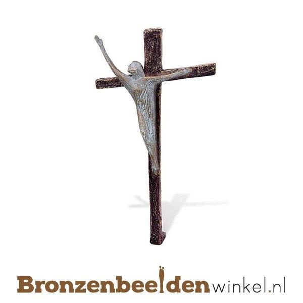 Bronzen Jezus Christus beeld BBW84188