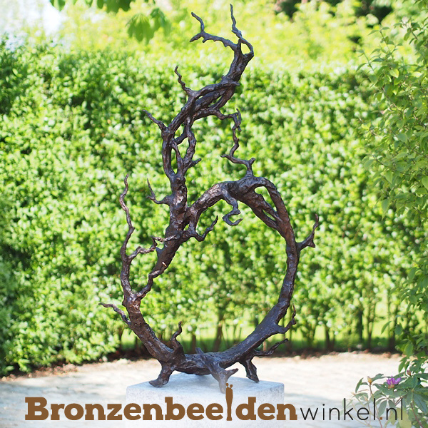 "Abstract tuinbeeld ""Vertakking"" BBW52231br"