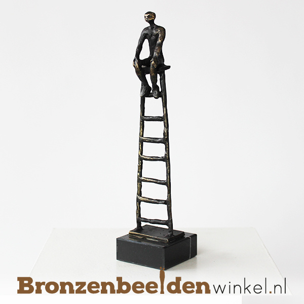"Zakelijk beeldje ""De carrièreladder"" BBW005br43"
