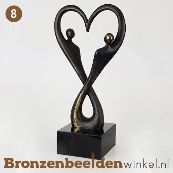 "NR 8 | 65 jaar getrouwd cadeau ""Oneindige Liefde"" BBW007br18"