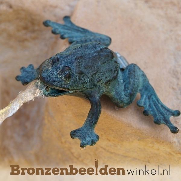 Bronzen kikker spuiter BBW0997BR