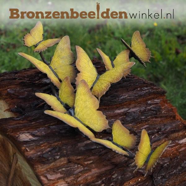 Bronzen citroen vlinders BBW1934br