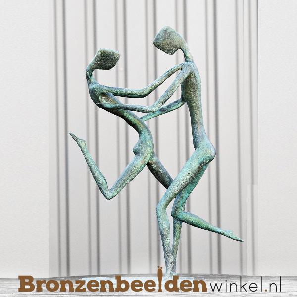 """Groot beeld """"Dansend koppel"""" BBW52847br"""