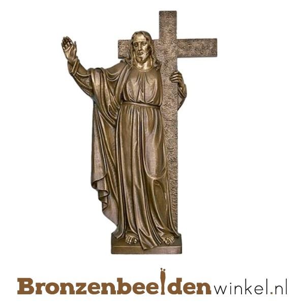 "Christusbeeld ""Christus met Kruis"" BBWP64610"