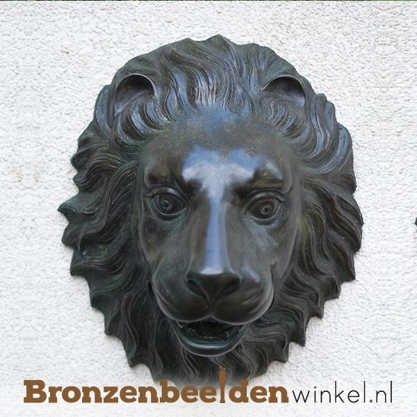 Bronzen leeuwenkop (fontein) BBW1087