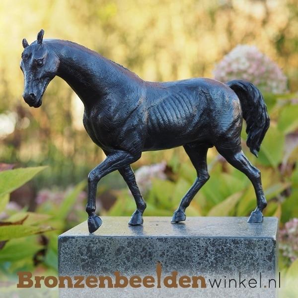 Paardenbeeldje brons BBW1172br