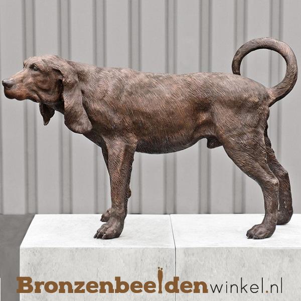 Beeld bloedhond in brons BBW37242