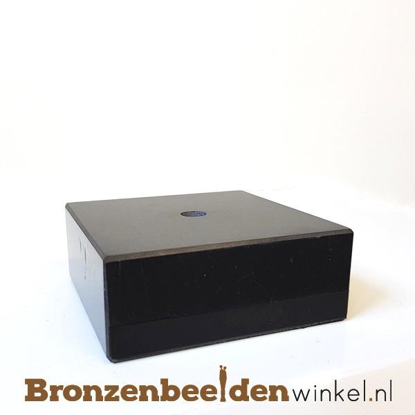 4x Marmeren sokkel 3x7,5x7,5 cm