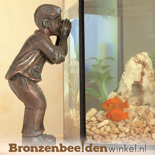 Klein jongetje die naar binnen kijkt BBWR88387