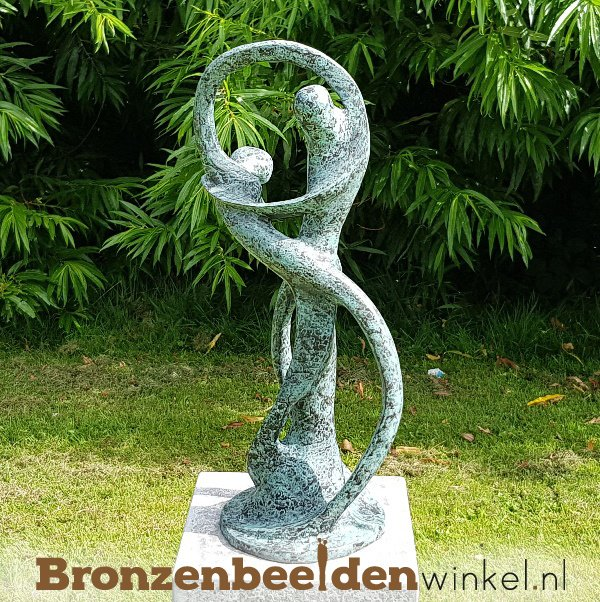 """Abstract tuinbeeld """"De Oneindige Dans"""" BBW52214br"""