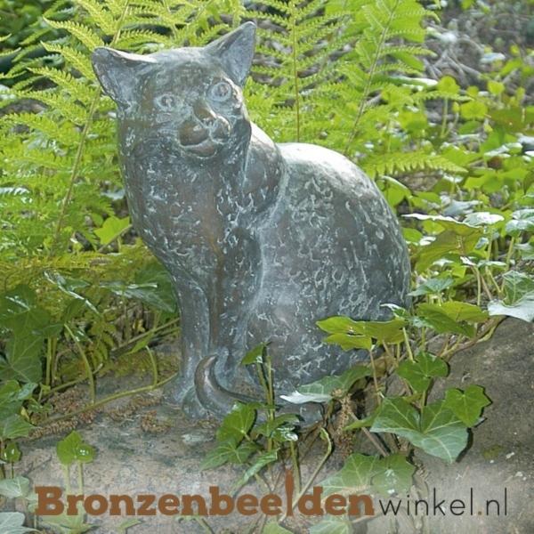 Bronzen kat BBW84170