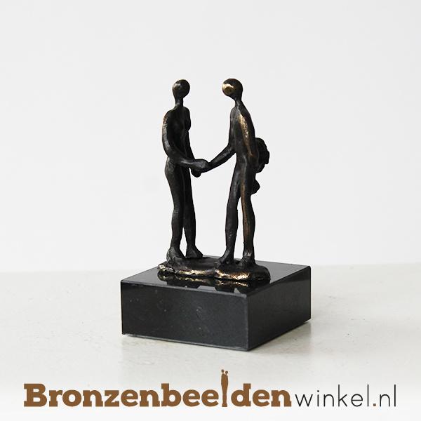 """Afscheidscadeautje """"Een bloemetje"""" BBW005br37"""