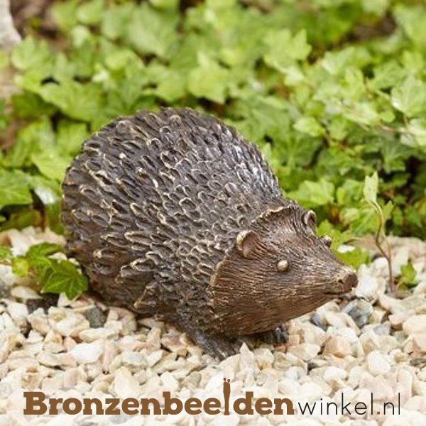 Beeld egel in brons BBW89013