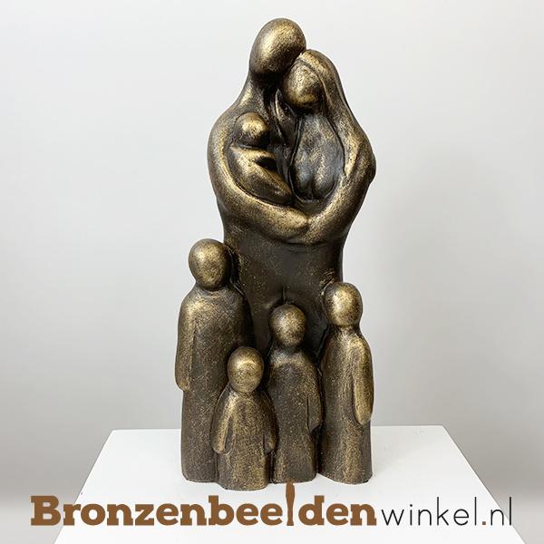 """Geboortegeschenk """"Uitgebreid gezin 7 personen"""" BBW071br65"""
