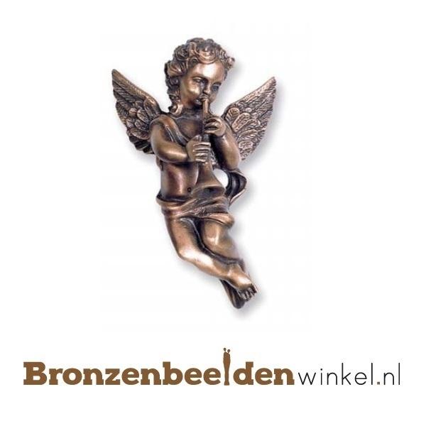 Engelen beeldje brons BBW85244