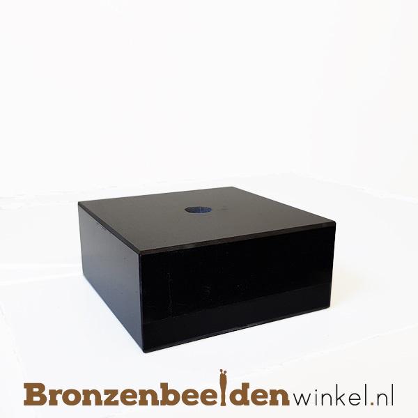 5 x Marmeren sokkel 3x6,5x6,5 cm
